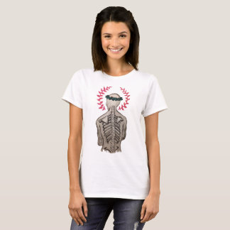 Wachsendes Skelett T-Shirt