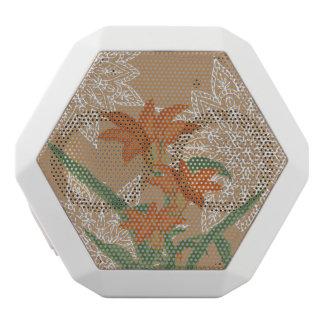 WACHSTUM - orange Lilie Weiße Bluetooth Lautsprecher