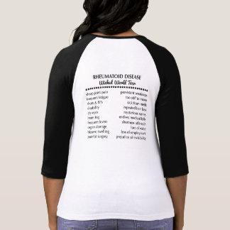 Wachte wie dieser Konzertart-Baseball-T - Shirt