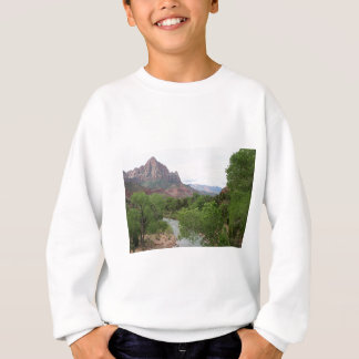 Wächter, Zion Nationalpark, Utah, USA Sweatshirt