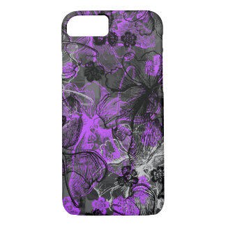 Wahine Spitze-Hawaiianer-Orchidee iPhone 8/7 Hülle