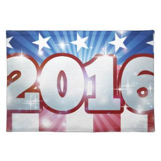 Wahl-Flagge-Konzept 2016 Tischsets