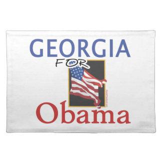 Wahl Georgia für Obama Tisch Set