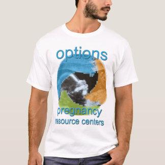 Wahl-Schwangerschafts-Ressource zentriert T-Shirt