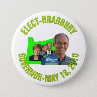 Wählen-Bradbury Runder Button 7,6 Cm