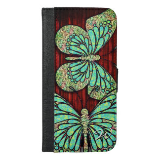 Wahlen des Schmetterlings-1 iPhone 6/6s Plus Geldbeutel Hülle