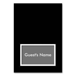 Wählen-Ihr-FarbeTented NamensPlatzkarte Karte