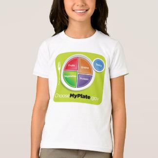 Wählen Nahrungsmittelpyramide 2011 mein T-Shirt
