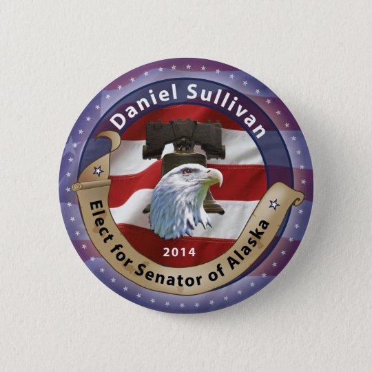 Wählen Sie Daniel Sullivan für Senator von Alaska Runder Button 5,7 Cm