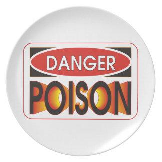 Wählen Sie Ihr Gift aus Melaminteller