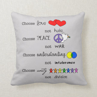 Wählen Sie Kissen