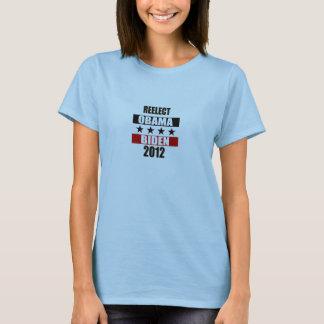 Wählen Sie Obama Biden im Jahre 2012 wieder T-Shirt