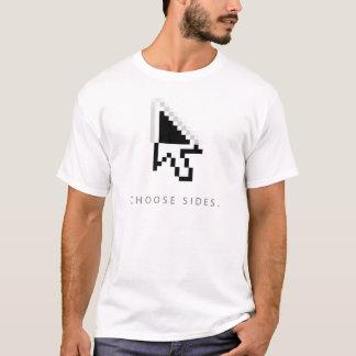 Wählen Sie Seiten T-Shirt