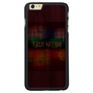 Wahre Nation Carved® Walnut iPhone 6 Plus Hülle