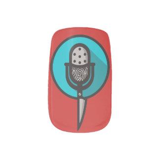 Wahre Verbrechen-Fanclub-Nagel-Kunst Minx Nagelkunst