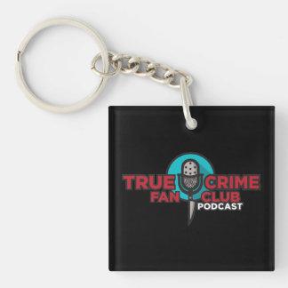 Wahrer Verbrechen-Fanclub Keychain Schlüsselanhänger