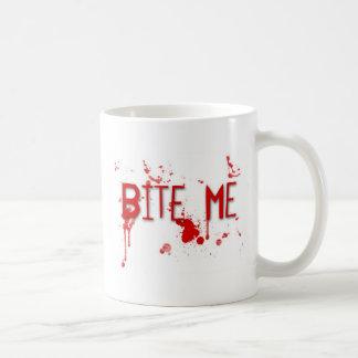 """Wahres Blut """"beißt mich """" Kaffeetasse"""