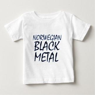 Wahres norwegisches schwarzes Metall Baby T-shirt