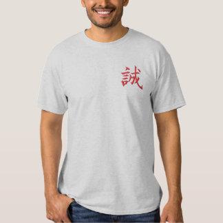 Wahrheit Besticktes T-Shirt