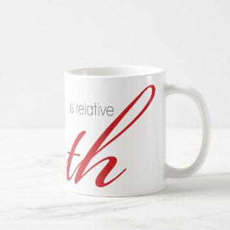 Wahrheit Kaffeetasse