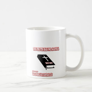 Wahrheit, keine Tagesordnung Kaffeetasse