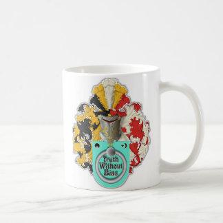 Wahrheits-unvoreingenommen Logo Kaffeetasse