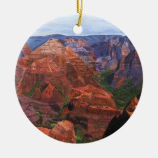 Waimea Schlucht Keramik Ornament