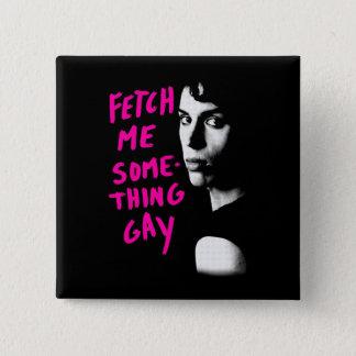 Waisenschwarzes | holen mir homosexuelles etwas quadratischer button 5,1 cm