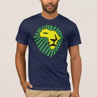 Waka waka Grün-Mähnen-Gelb-Löwe-Shirt T-Shirt