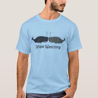 Wal-aufpassender Ausflug-Führer-lustiger T - Shirt