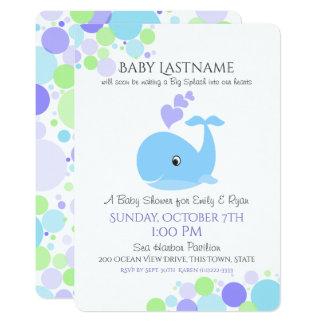 Wal-Babyparty 12,7 X 17,8 Cm Einladungskarte