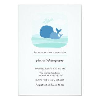 Wal-Babyparty-Einladung 8,9 X 12,7 Cm Einladungskarte