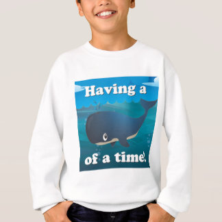 Wal einer Zeit - Tiefsee-Ausgabe Sweatshirt
