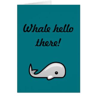 Wal hallo! karte