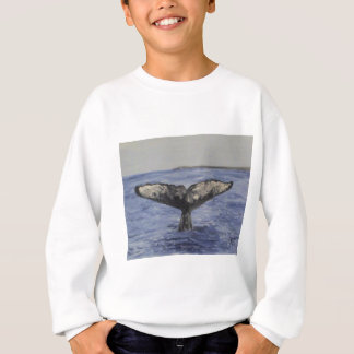 Wal-Schwanz Sweatshirt