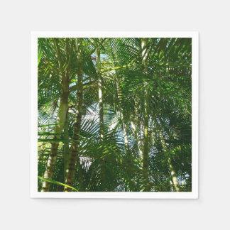 Wald des Palme-tropischen Grüns Serviette