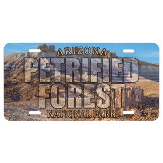 Wald-Nationalpark-Kfz-Kennzeichen US Nummernschild