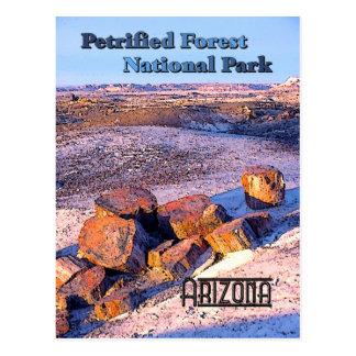 Wald-Vintage Art Postkarte