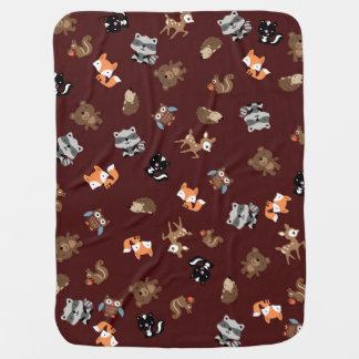 Waldbaby-Brei herauf umfassendes *Dark Brown Babydecke