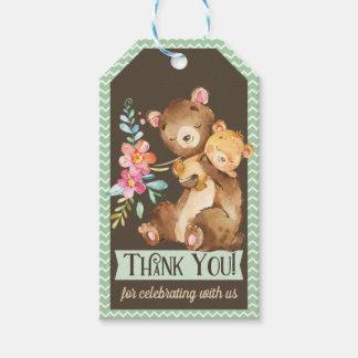Waldbärn-Babyparty danken Ihnen Geschenk-Umbau Geschenkanhänger