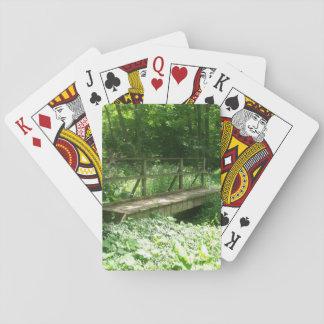Waldbrücken-Spielkarten Pokerkarte