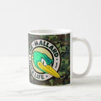 WaldCamouflage-Enten-Leben Kaffeetasse