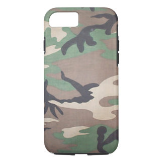WaldCamouflage iPhone 7 Fall iPhone 7 Hülle