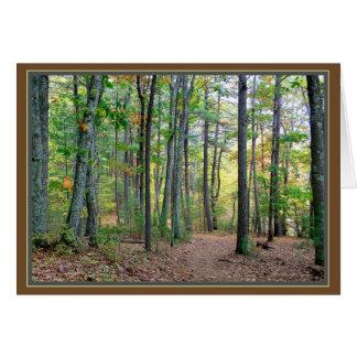 Walden Holz: Ein Morgenweg ist ein Segen Karte
