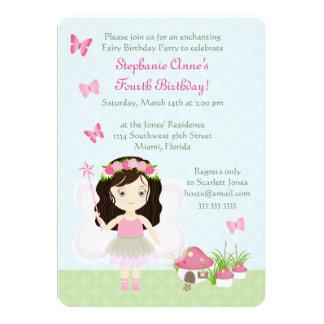 Waldfee-Prinzessin 12,7 X 17,8 Cm Einladungskarte