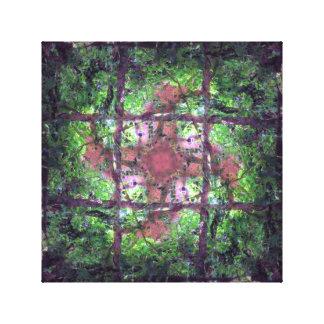 Waldfenster Leinwanddruck