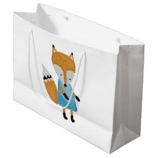 Waldfreund-entzückender kleiner WaldFox Große Geschenktüte
