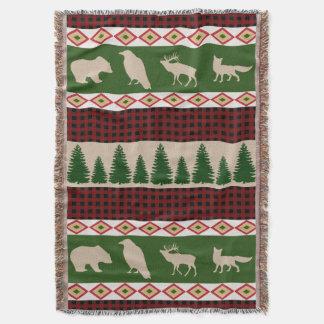 Waldhäuschen-rustikales Waldweihnachten Decke