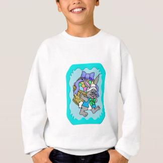 Waldkaninchen Ostern 5 Sweatshirt