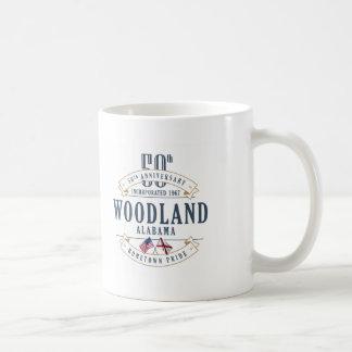 Waldland, Jahrestags-Tasse Alabamas 50. Kaffeetasse